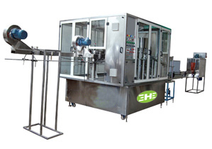 Mineral Water Plant | Rotary Bottle Filling Machine